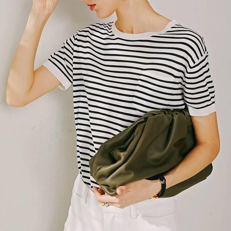 Women Simple Dumplings Messenger Bag Designer Retro 2019 New Fashion Cloud Female Crossbody Shoulder Bag Tide Handbag Clutch Bag Color : Black L 28cm|Green L 28cm|Khaki L 28cm|White L 28cm|Black S 21cm|Green S 21cm|Khaki S 21cm|White S 21cm|Black XL 38cm|Green XL 38cm|Brown XL 38cm|White XL 38cm|Khaki XL 38CM|White S 23cm|Black S 23cm|Khaki S 23cm